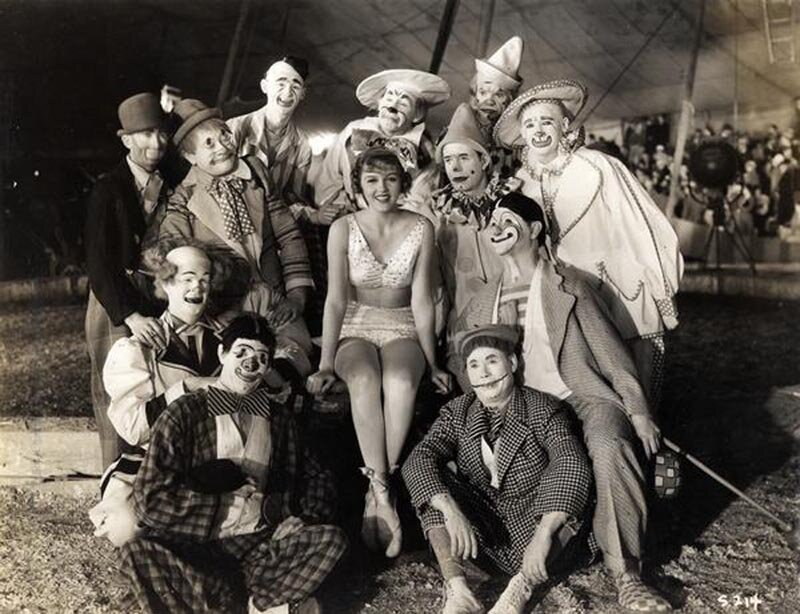 Vintage Circus Photographs