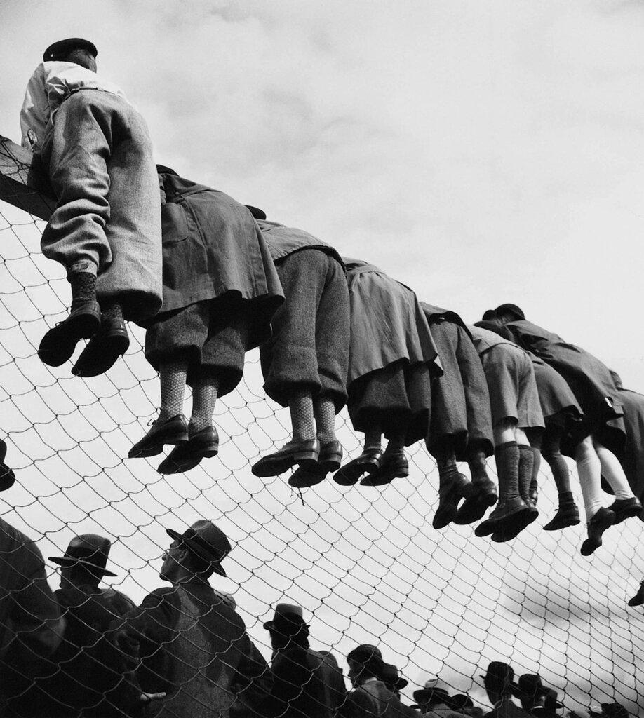 Emil Heilborn. At the dog races, 1930