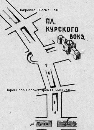 Покровка, Курский вокзал