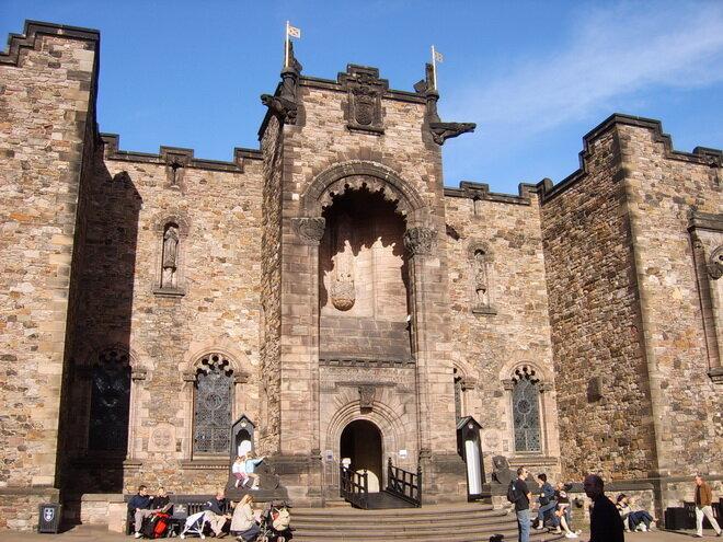 Эдинбургский замок. Шотландия