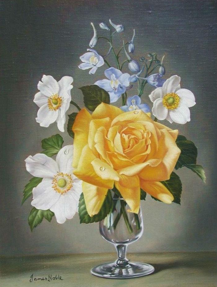 Английский художник James Noble (1919 -1989)
