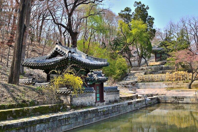 Картинки по запросу Тайный сад - Хувон (Huwon)
