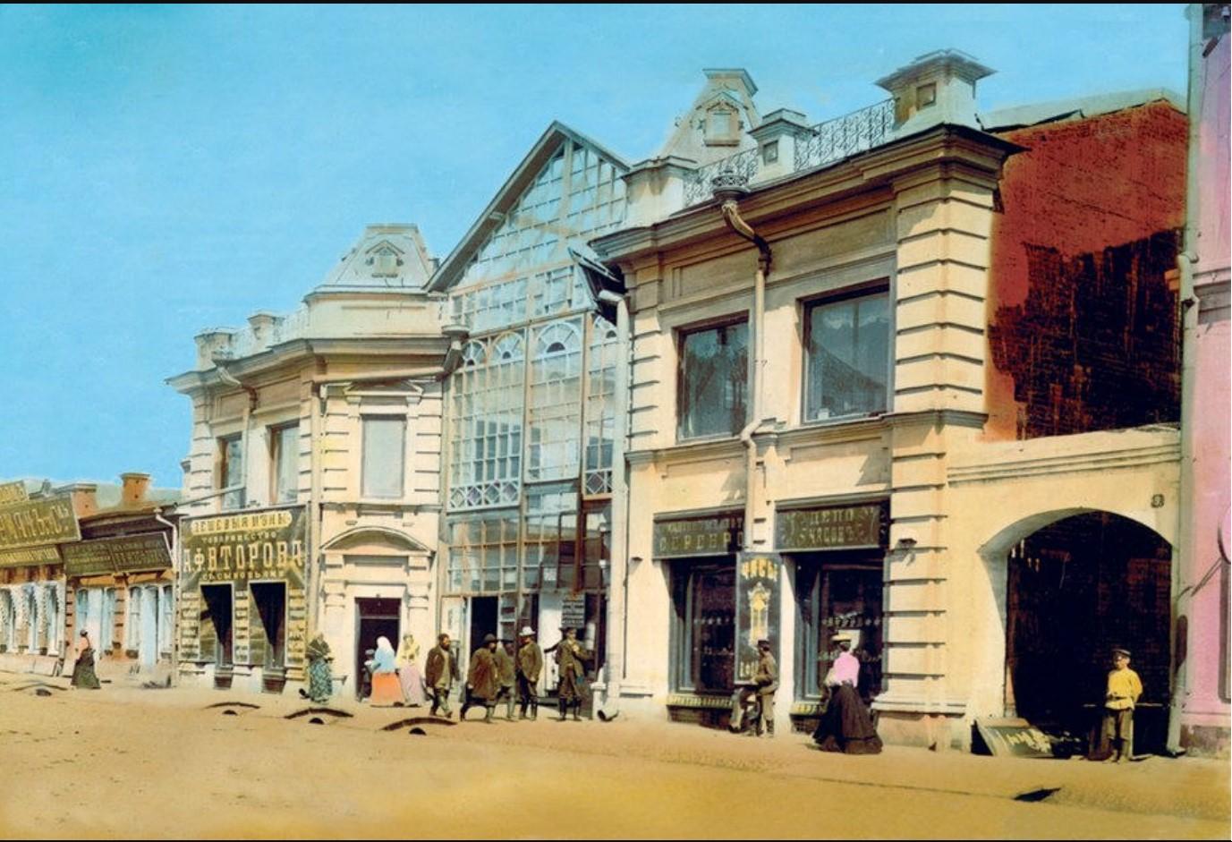 Пестеревская улица. Пассаж братьев Юцисов