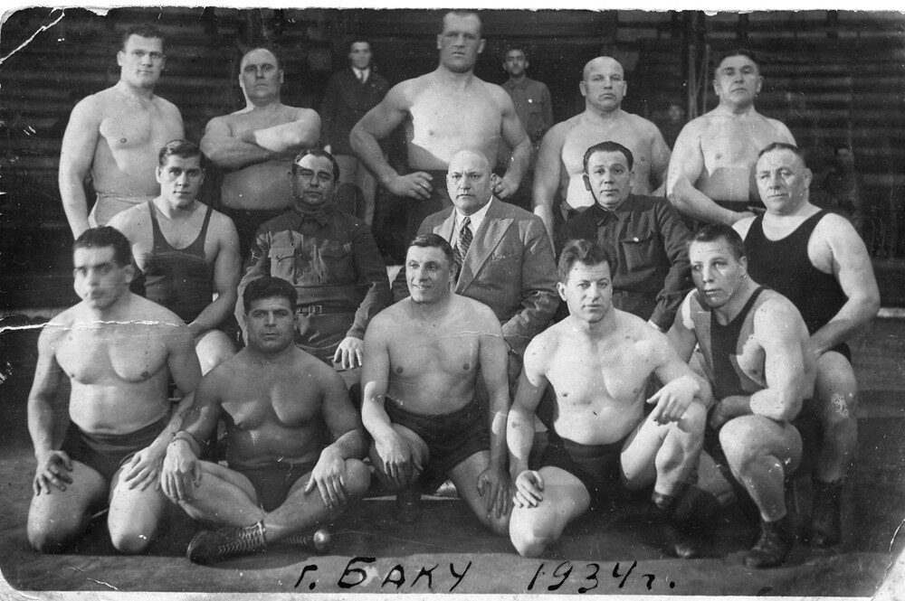 1934. Борцы