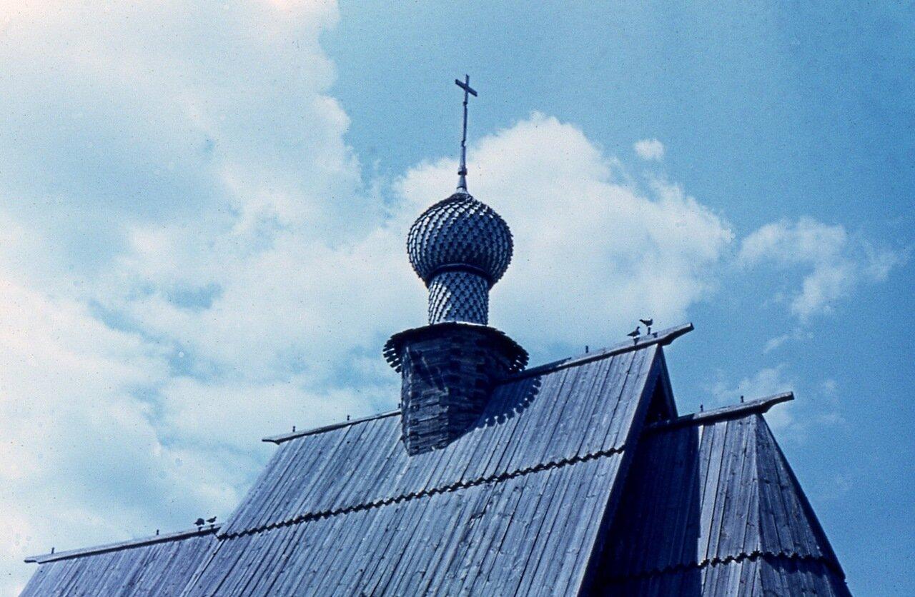 10.  Маковка церкви Николы