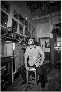 Аксанов Нияз. Портреты блогера. Черно-белые фотографии