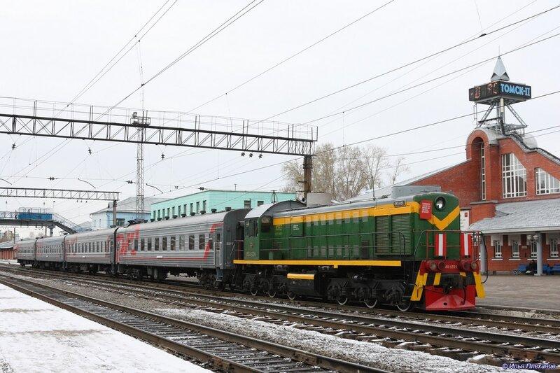 С 1 мая поезд Томск — Асино будет ходить три раза в неделю