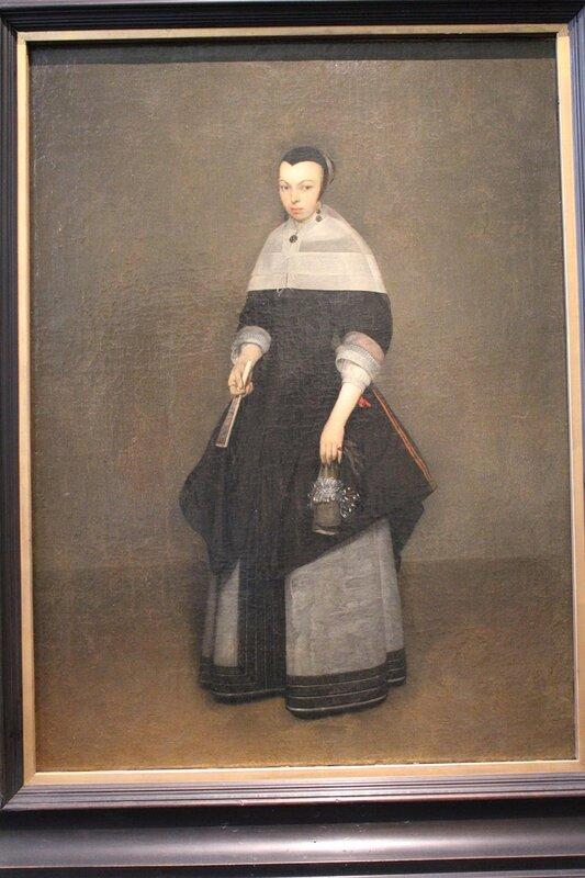 Портрет дамы (Герард Терборх)