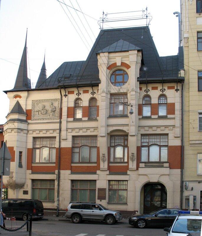 шехтель архитектор работы в москве фото также посвящала