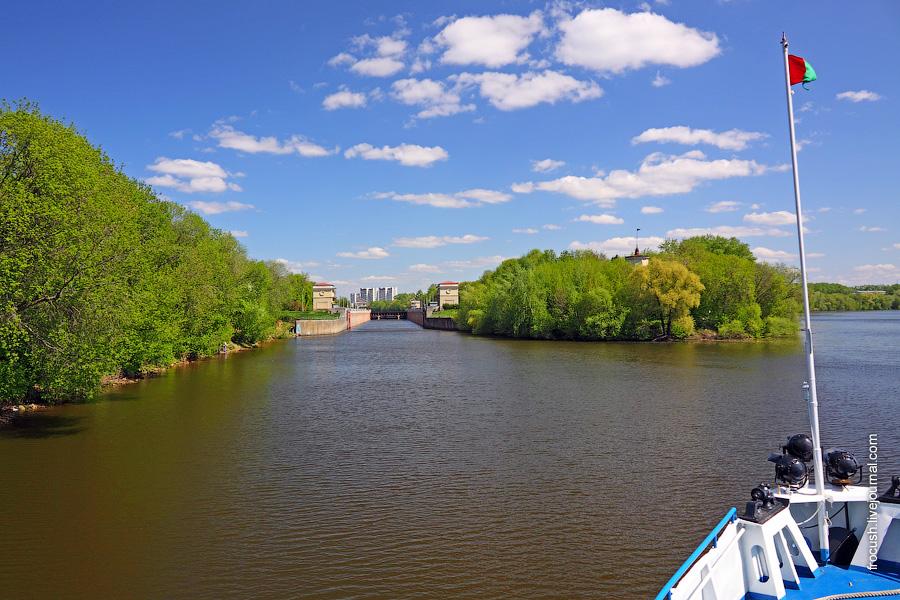 Шлюз №10 канала имени Москвы