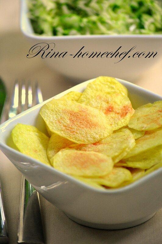 Картофель в микроволновой печи 1