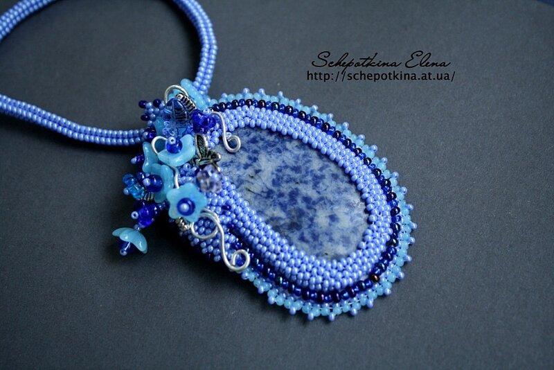 sinelnik53 вышивка бисеро украшения из бисера и натуральных камней.