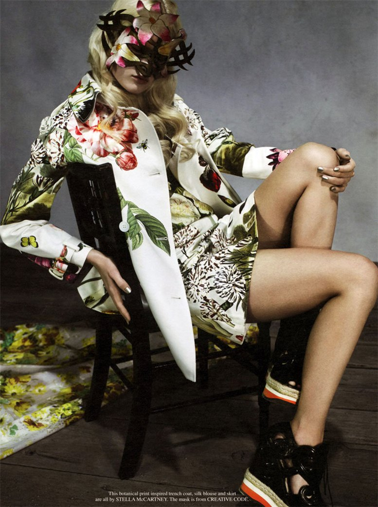 модель Ханна Холман / Hannah Holman, фотограф Catherine Servel