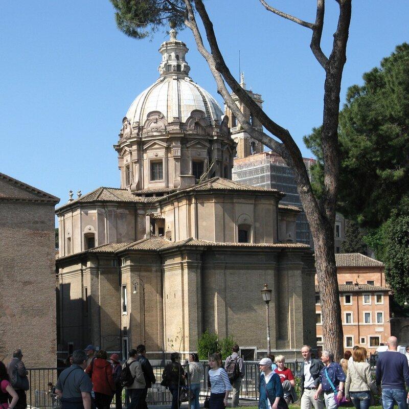 Церковь Святых Луки и Мартины (Chiesa di SS.Luca e Martin)