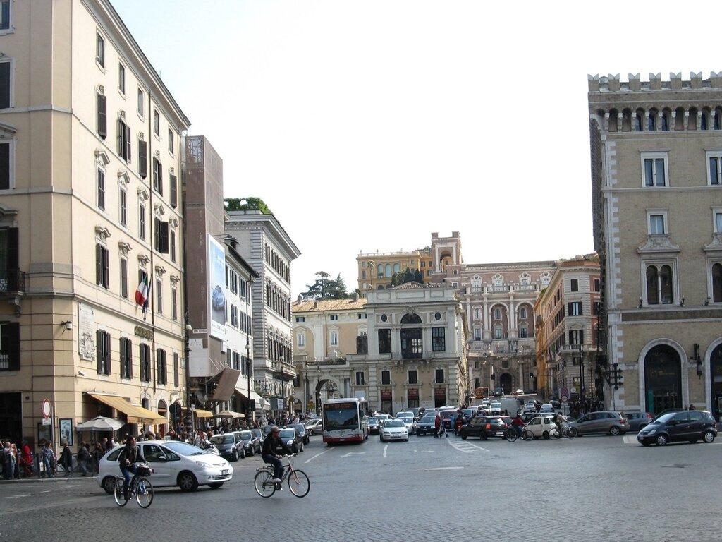 Рим. Площадь Венеции (Piazza Venezia)