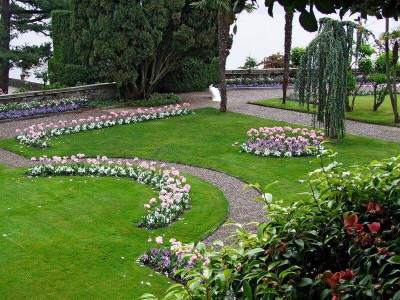 Дворец Борромео - парк