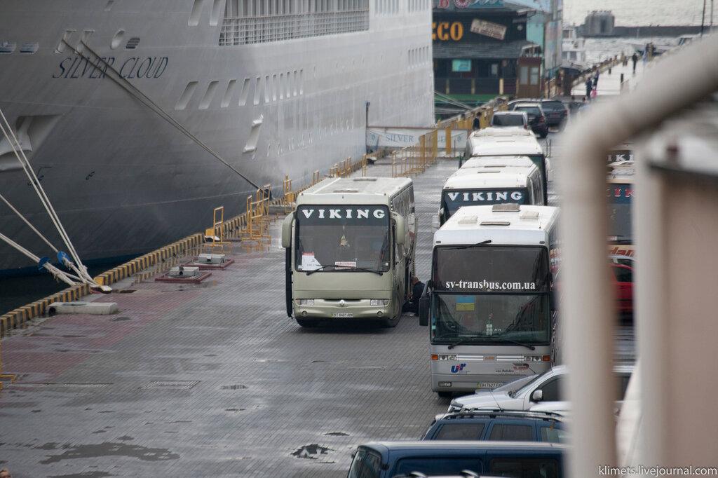 Морской порт ОДЕССА
