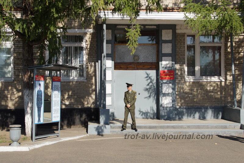 ОТИИ, День танкиста-2012, казарма 2 факультета, Омск