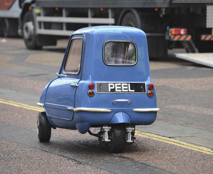 Самая маленькая машина фото