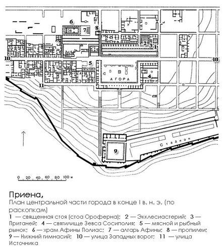 Сиро-хеттский город Самалъ (Зенджирли), Месопотамия, генплан