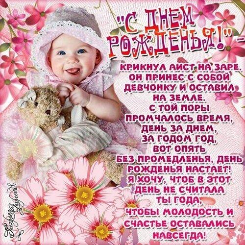 Поздравления с днём рождения дочери женщине