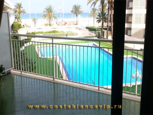Апартаменты в Gandia, апартаменты на пляже в Гандии, апартаменты в Гандии, квартира на пляже, Коста Бланка, апартаменты в Испании, недвижимость в Испании, CostablancaVIP, апартаменты на первой линии пляжа