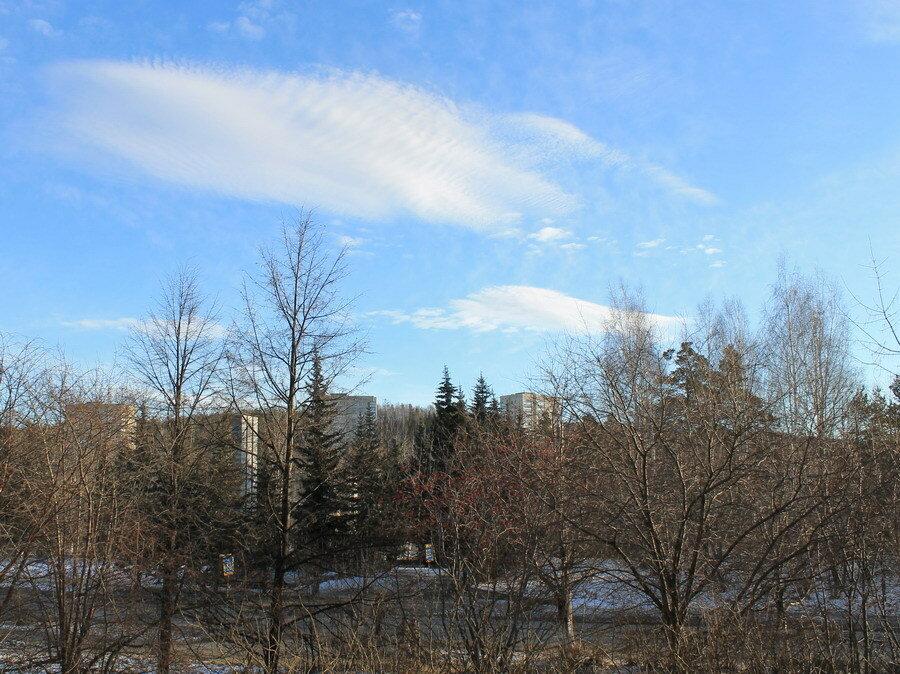 Рифлёное облако.