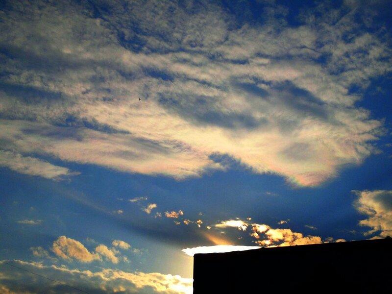 Радужные облака 2011.07.13
