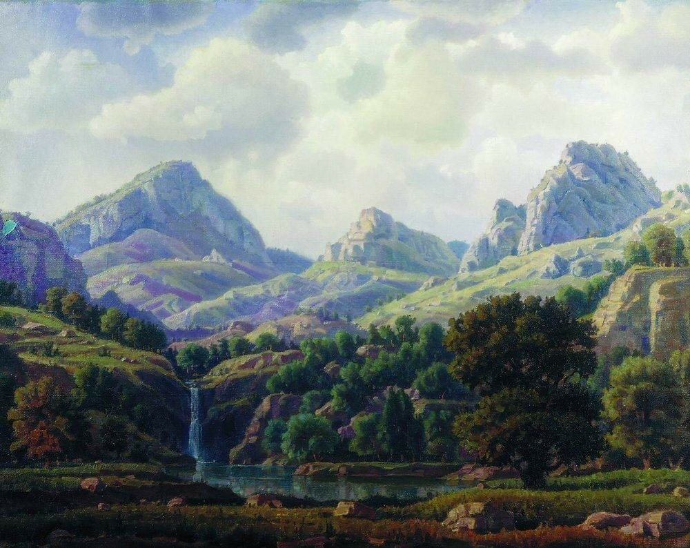 Горный пейзаж. 1940.jpg