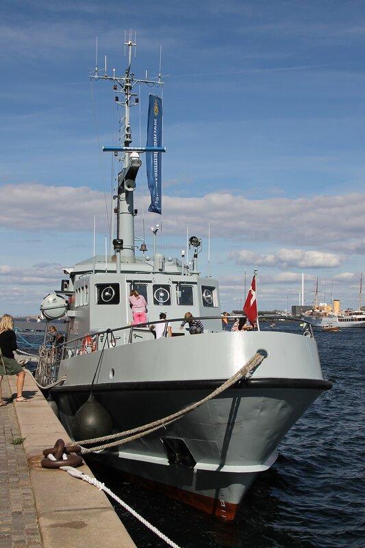 Водолазный катер ВМФ Дании