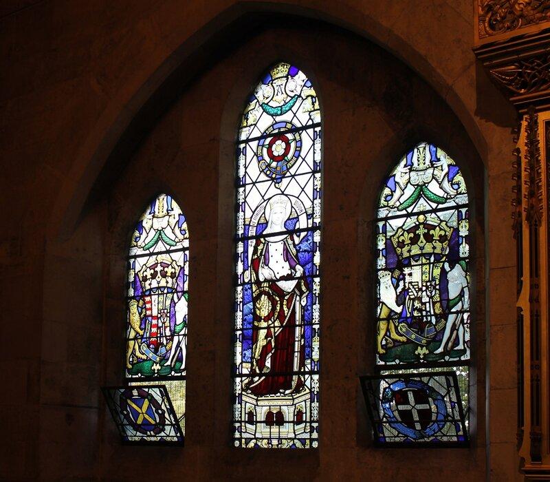 Копенгаген. Церковь Святого Албана. Интерьеры