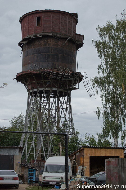 Петушки - Гиперболоидная водонапорная башня академика В. Г. Шухова