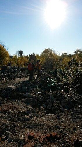 развалины стекольного завода в Торковичах