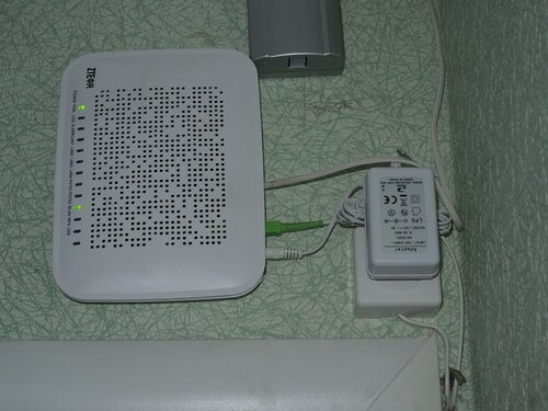 ZTE router