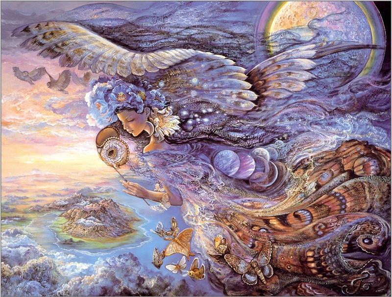 Волшебные фантазии художницы Josephine Wall