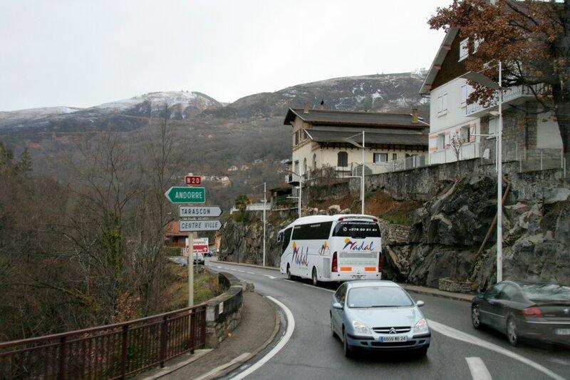 Французский городок в Пиренеях