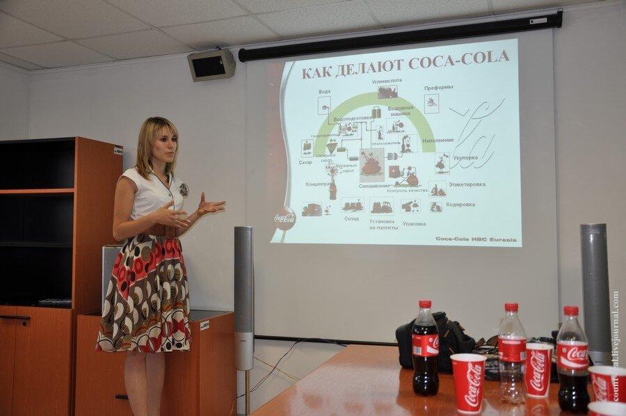 в России Coca-Cola Company