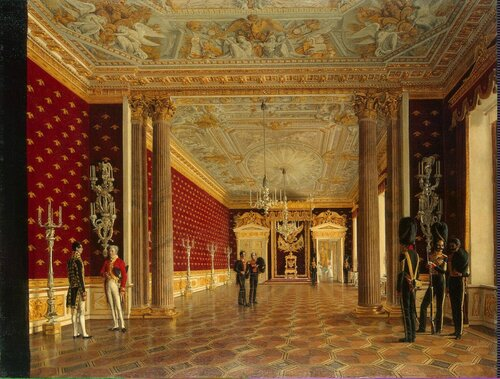 Федоровны в зимнем дворце 1835 год