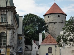 Таллинн башня Кик-ин-де-Кёк