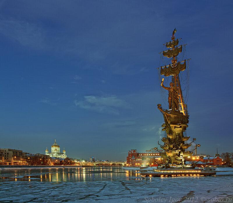 них продолжают памятник петру первому в москве фото красивые фотокниги