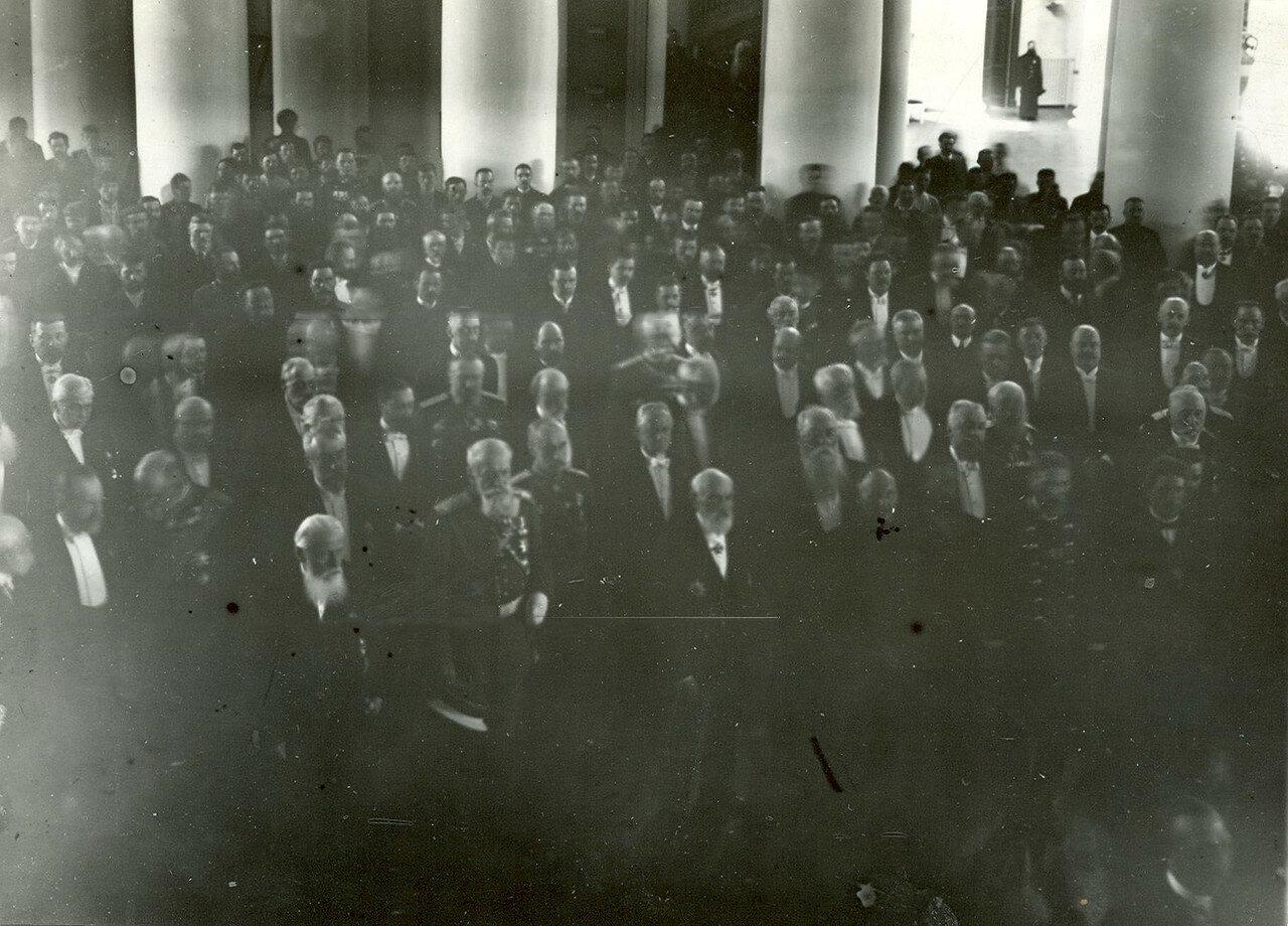 24. Открытие Второй Государственной Думы в колонном зале Таврического дворца