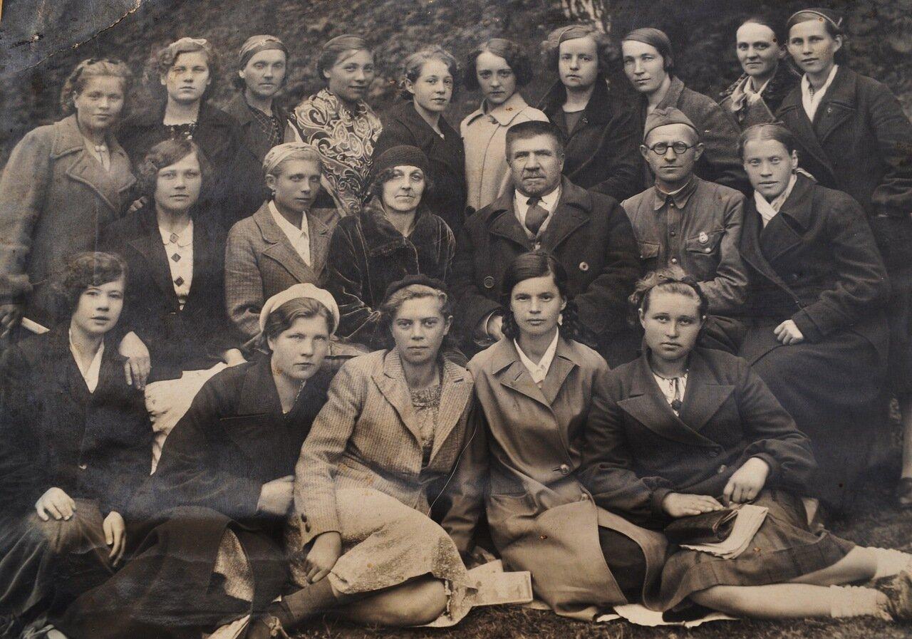 1940-1941. Курсы медсестер в Кинешме