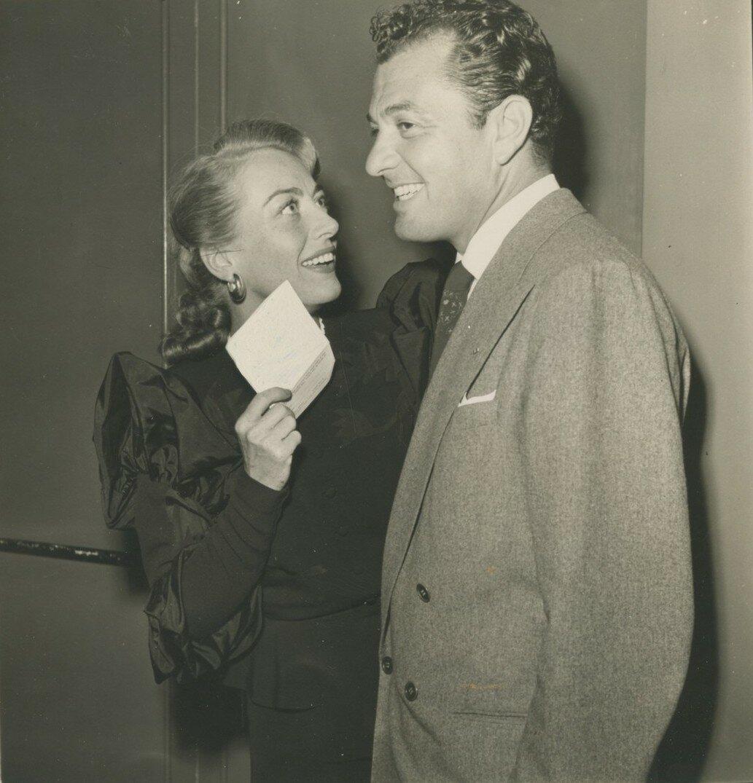 1947. Джоан Кроуфорд и Тони Мартин