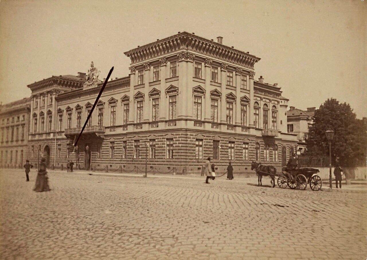 1865. Факультет географии и региональных исследований Варшавского университета