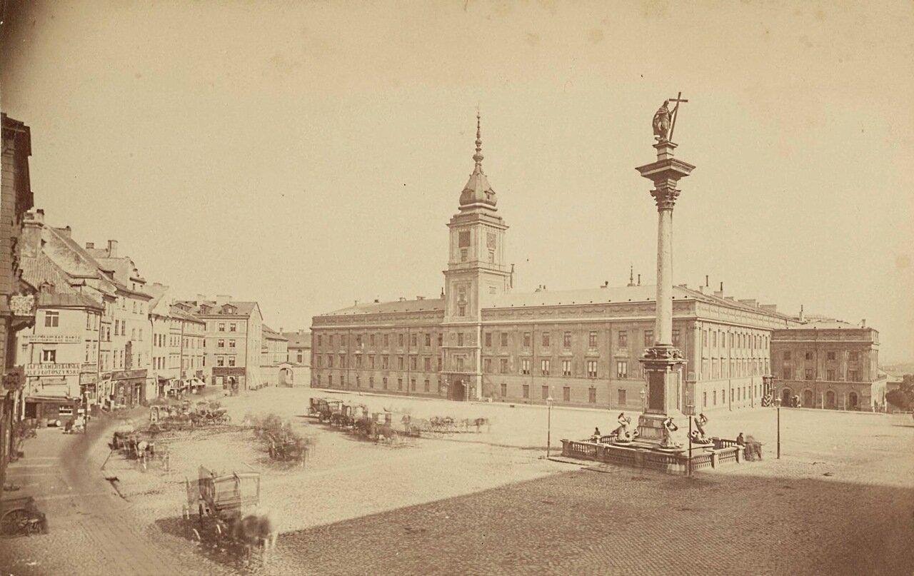 Замковая площадь 1871