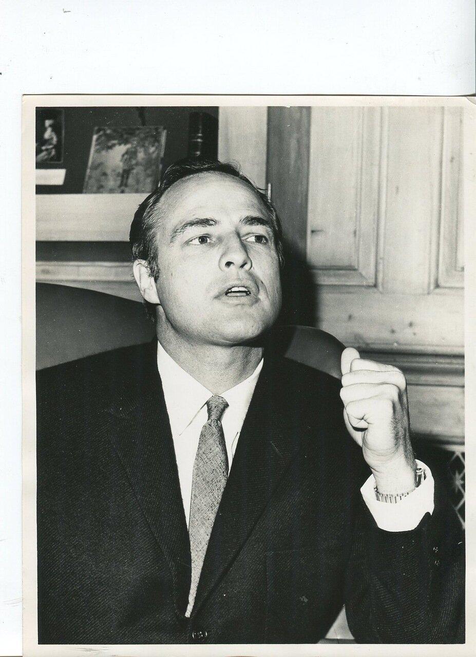 1960-е. Марлон Брандо