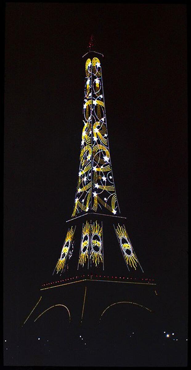 1925. Эйфелева башня. Ситроен