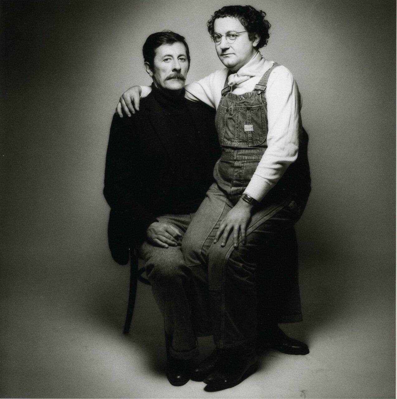 1975. Колюш и Жан Рошфор