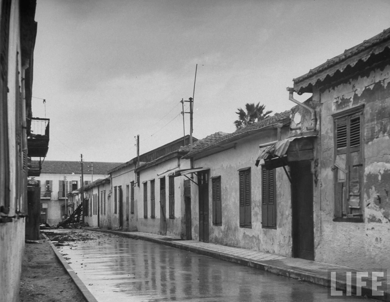 1948. Пограничная область между Тель-Авивом и Яффо