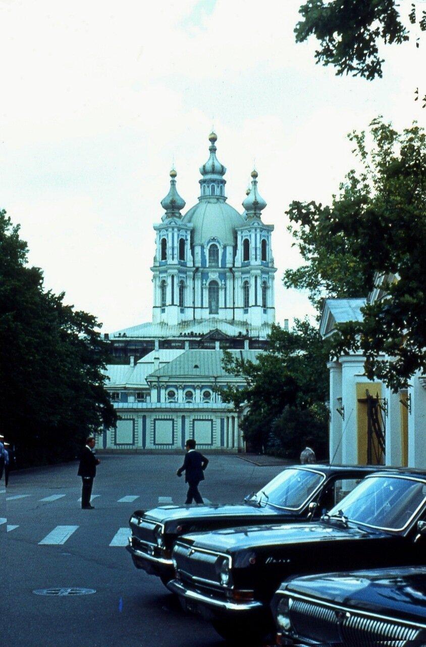 10.  Собор Смольного  монастыря